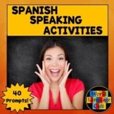 Spanish Speaking Activities, Test, Exam for Midterm, Final Exams