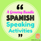 Spanish Speaking Activities for Communication Practice ~ A