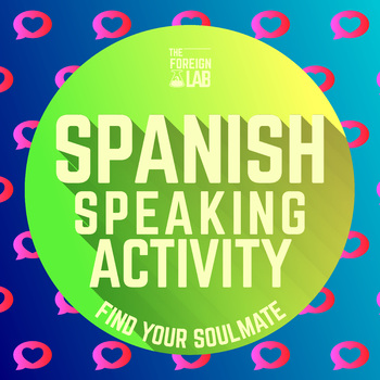 Spanish Speaking Activity – Basic Question Practice 26 Conversation Cards