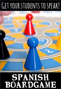 Spanish Speaking Activity – Boardgame for Speaking and Grammar Practice