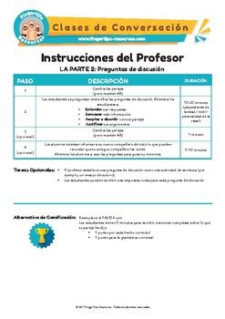 Spanish Speaking Activity Bundle 1