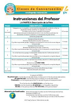 Spanish Speaking Activity Bundle 3
