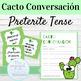Spanish Speaking Activity Cacto Conversacion BUNDLE