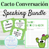 Spanish Speaking Activity Cacto Conversacion BUNDLE