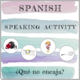 Spanish Speaking Activity - Distance Learning
