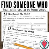 Spanish Grammar - Go Verbs - Spanish Speaking Activity