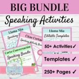 Spanish Speaking Activity MEGA BUNDLE