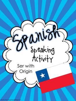 Spanish Speaking Activity Ser with Origin