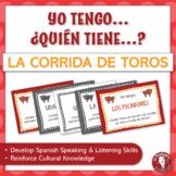 Spanish Speaking Activity for Bullfighting Vocabulary | La