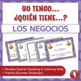 Spanish Speaking Activity for Business and Economy Vocabul