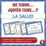 Spanish Speaking Activity for Health Vocabulary | Hablar s