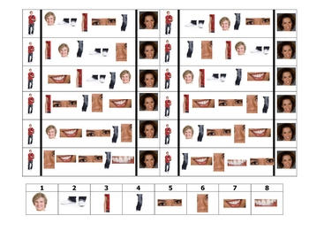 Spanish Speaking Activity to Practice Body Parts