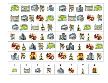 Spanish Speaking Activity to Practice City Locations