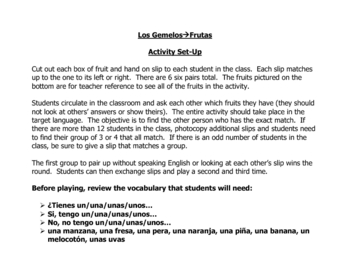 Spanish Speaking Activity to Practice Fruit