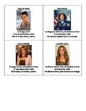 Spanish Speaking Activity using Famous Hispanic Celebrities