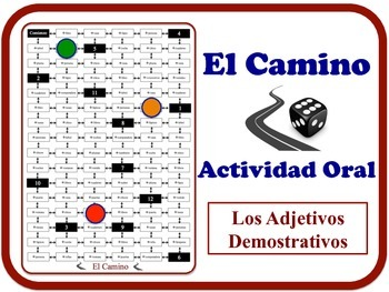 Spanish Demonstrative Adjectives Speaking Activity. Quick Prep