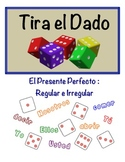 Spanish Present Perfect Speaking Activity (Dice, Groups)