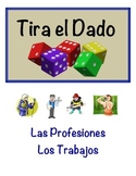 Spanish Jobs & Professions Vocabulary Speaking Activity (Dice, Groups)