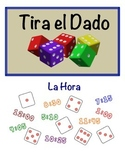Spanish Time Speaking Activity (Dice, Groups)