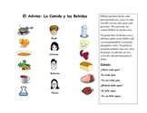 Spanish Speaking Activity with Food  Vocabulary