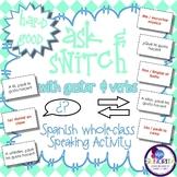 Spanish Speaking Activity with Gustar & Verbs - Hard Good
