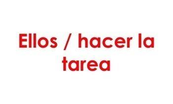 Spanish Speaking Activity with Present Progressive Tense