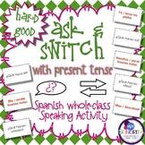 Spanish Speaking Activity with Present Tense - Hard Good