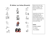 Spanish Speaking Activity with Present Tense Verbs