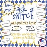 Spanish Speaking Activity with Preterite Tense - Hard Good