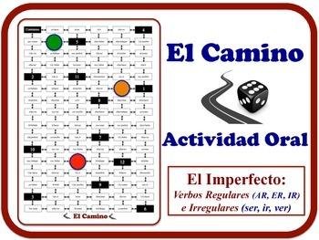 Spanish Imperfect Speaking Activity. No Prep. Quick Set-Up.