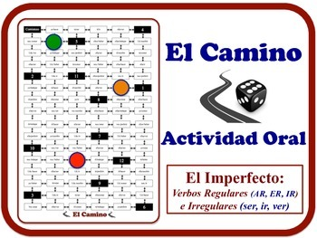 Spanish Imperfect Speaking Activity. No Prep. Quick Set-Up.