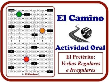 Spanish Preterite (Reg. & Irreg. Verbs) Speaking Activity. Quick Set-Up