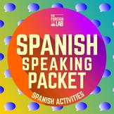 Spanish Speaking Activities Bundle – Whole Class Speaking