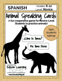 Animal Speaking Cards - Spanish