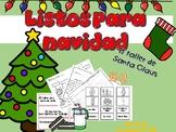 Spanish Speaking: Christmas Literacy Activities  /Listos para Navidad