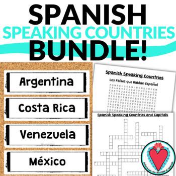 Spanish Speaking Countries BUNDLE