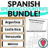Spanish Speaking Countries Bundle of Activities - Hispanic