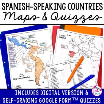 Spanish Speaking Countries Bundle by Sra Cruz | Teachers Pay Teachers
