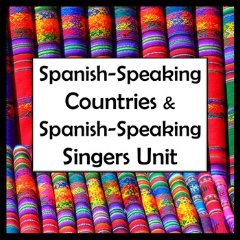 Spanish Speaking Countries And Capitals Quiz Worksheets ... on