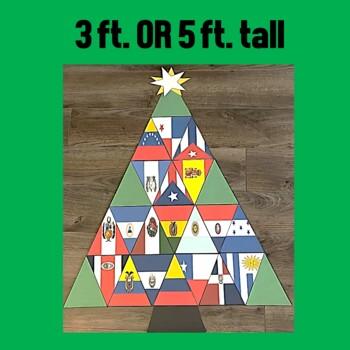 Spanish Speaking Countries Christmas Tree