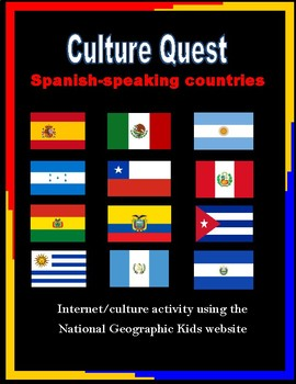 Spanish Speaking Countries Culture Bundle