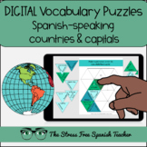 Spanish Speaking Countries DIGITAL Puzzles