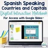 Spanish Speaking Countries Digital Interactive Notebook Go
