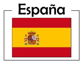 Spanish Speaking Countries' Flags