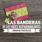 Spanish-Speaking Countries Flags Jigsaw Puzzles