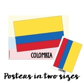 Spanish Speaking Countries {Flags, Posters and Coloring Pages} | TpT