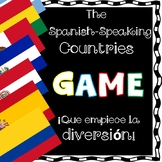 Spanish Speaking Countries Game/Juego con los Países Hispanohablantes