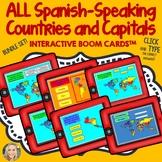 Spanish Speaking Countries, Geography, Boom Cards Bundle Set, English/Spanish