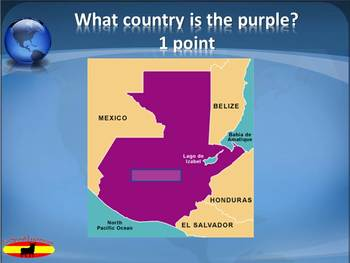 Spanish Speaking Countries Geography and Flags Practice Power Point
