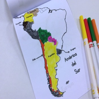 Spanish - Speaking Countries {Interactive Notebook}